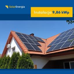 Instalacja 9,86 kWp