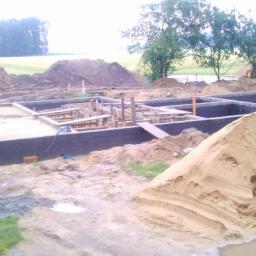 Wykopy i fundamenty