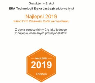 ERA Technologii Eryka Jastrząb - Przewóz osób Trzebnica