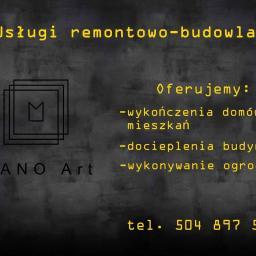 MANO Art - Płyta karton gips Klukowo