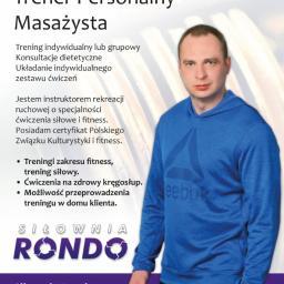 Trener Wojciech Brożźyna - Dietetyk Ustka
