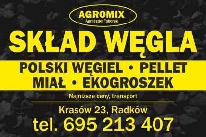 AGROMIX Skład Węgla Agnieszka Toborek - Ekogroszek Radków