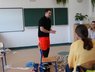 Paramedico Piotr Graczyk - Kurs pierwszej pomocy Luzino