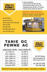Żółty Punkt Ubezpieczeń - Ubezpieczenia na życie Kielce