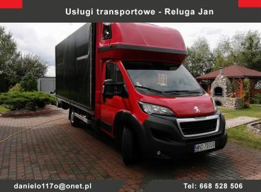 Usługi Transportowe Jan Reluga - Przeprowadzki Brok