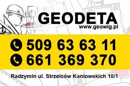 GEOWIG s.c. - Geodeta Radzymin