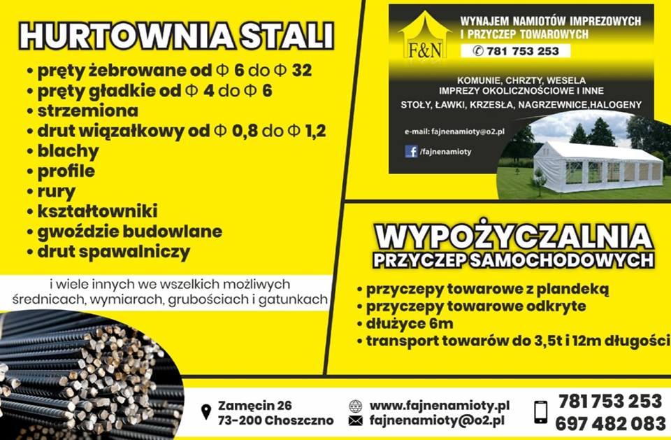10 Najlepszych Ofert Na Wynajem Namiotów w Choszcznie, 2020