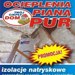 """KRIS-PUR Ocieplenia Pianą PUR """"Twój Ciepły Dom"""" - Gładzie Konstancin-Jeziorna"""