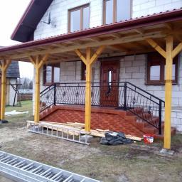 Wymiana dachu Stary bidaczów 4