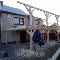 Wymiana dachu Stary bidaczów 2