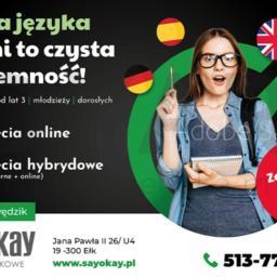 """Centrum Języków Obcych """"SAYOKAY"""" - Język hiszpański Ełk"""