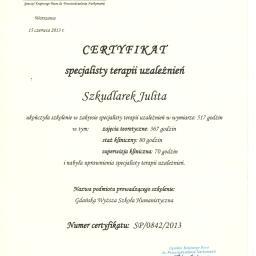 Centrum Psychoterapii Julita Szkudlarek - Terapia uzależnień Kostrzyn nad Odrą