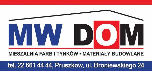 MW-DOM INWESTYCJE Sp. z o.o. - Chemia budowlana Pruszków