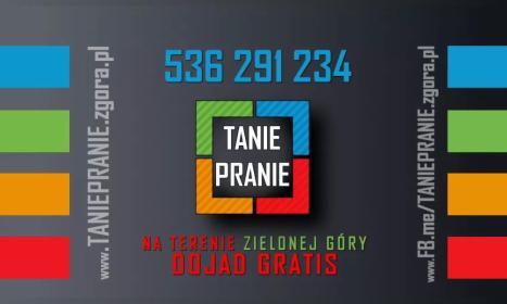 Tanie Pranie - Usługi Sprzątania Zielona Góra