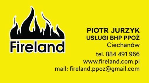 BHP PPOŻ Fireland Ciechanów - Usługi Szkoleniowe Ciechanów