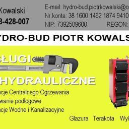 HYDRO-BUD Piotr Kowalski - Gazownik Biskupiec