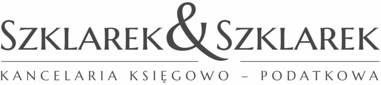 Szklarek & Szklarek Kancelaria Księgowo - Podatkowa - Doradca finansowy Łódź