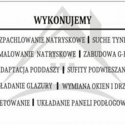Firma Remontowo-Budowlana Bartłomiej Rosikoń - Kładzenie Gładzi Oleśnica