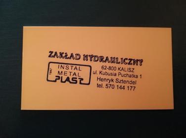 Instal Metal Plast - Instalacje sanitarne Kalisz