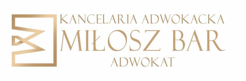 Kancelaria Adwokacka Miłosz Bar - Obsługa prawna firm Złotoryja