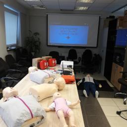 Szkolenie BLS-AED w Helkikon-Tex