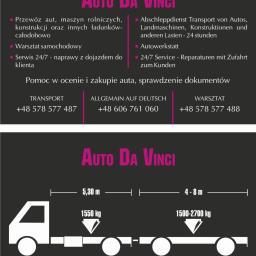 Gwidon Obałkowski - Transport samochodów Droszków