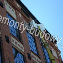 Renowacja cegły - naprawa pęknięć w ścianie metodą iniekcji, sklejenie, Łódź Żeromskiego