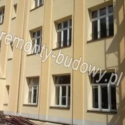 Ocieplenie budynku szkoły - Aleksandrów