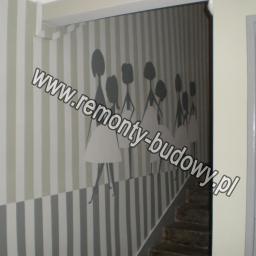 Malowanie klatki schodowej, Wigury