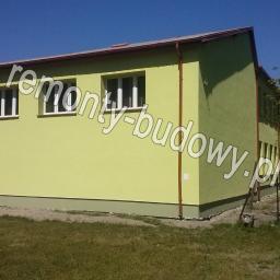 Ocieplenie budynku szkoły Bełdów