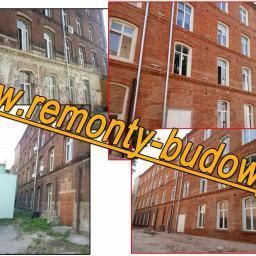 Renowacje elewacji ceglanych Łódź