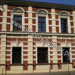 Renowacja elewacji, renowacja cegły, Łódź Jaracza