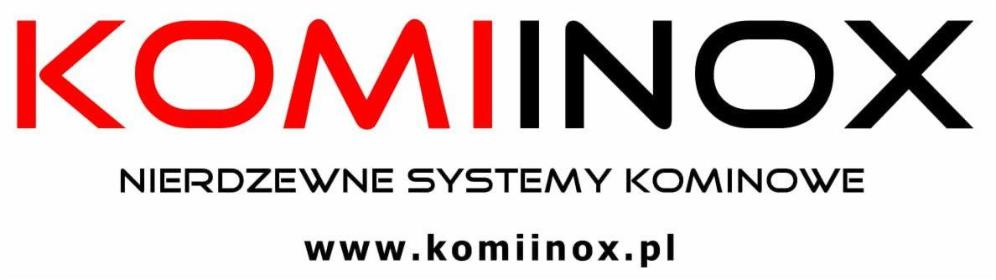 Komiinox - nierdzewne systemy kominowe - Kominki Kraków