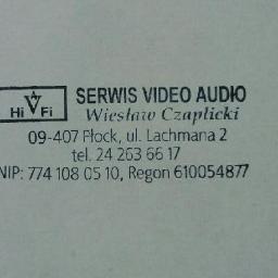 Serwis Video-Audio Naprawa telewizorów i sprzętu RTV - Serwis RTV Płock