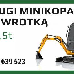 PRACE ZIEMNE I BUDOWLANE Wiesław Gąsiorek - Roboty ziemne Limanowa