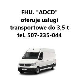 "Firma Handlowo-Usługowa ""ADCD"" - Transport busem Elbląg"