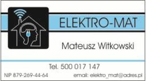 ELEKTRO-MAT - Inteligentny dom Rzęczkowo