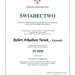 Rzeczoznawca Majątkowy Robert Taciak - Wycena nieruchomości Wrocław