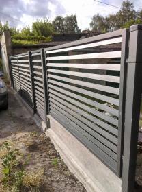 BAU BEN OGRODZENIA - Ogrodzenia betonowe Gliwice