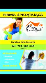 Błysk firma sprzatajaca Karolina Kołodziejczyk - Mycie Szyb Leszno