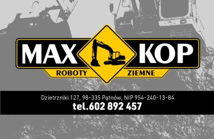 """Firma Ogólnobudowlane """"MAX-KOP"""" Monika Kielan - Fundament Dzietrzniki"""