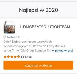 DMGREATSOLUTIONTEAM - Przeprowadzki Bytom