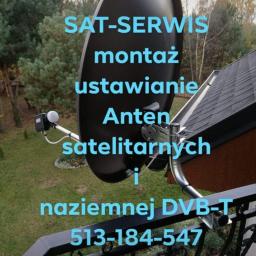 """Kw """"sat-serwis"""" - Instalowanie sprzętu RTV, AGD Ostrowiec świętokrzyski"""