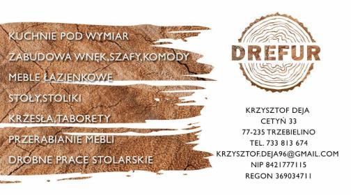 Drefur - Meble na wymiar Cetyń