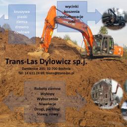 Trans-Las Dylowicz sp.j. - Rozbiórka Budynków Bochnia
