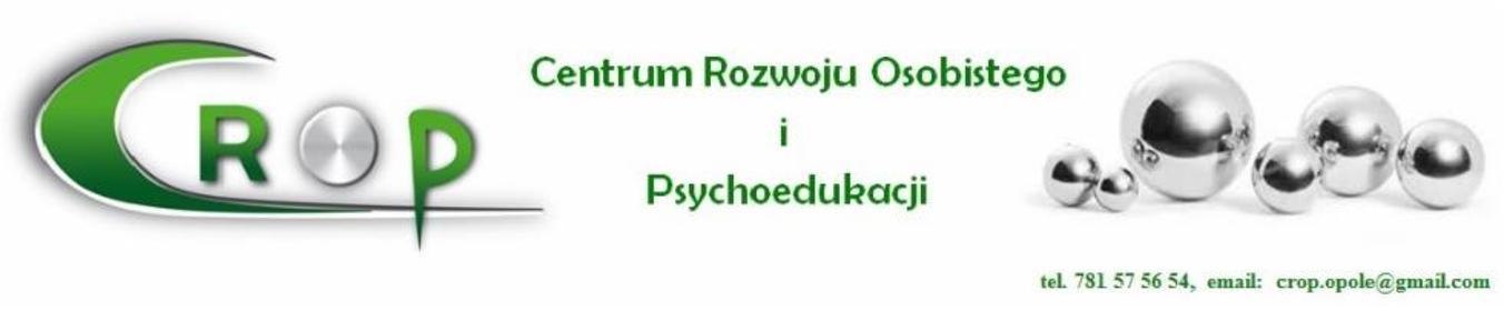 Centrum Rozwoju Osobistego i Psychoedukacji CROP - Psycholog Opole