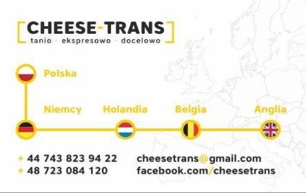 Cheese-Trans - Przeprowadzki międzynarodowe Dzikowiec