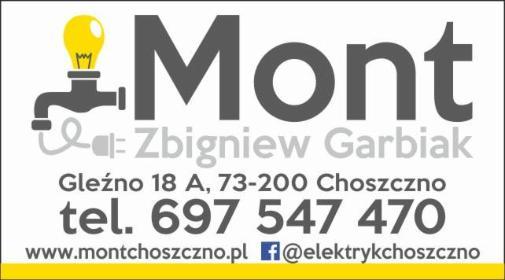 Mont Zbigniew Garbiak - Elektryk Choszczno