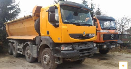 Usługi Transportowe i Sprzedaż Materiałów Budowlanych Arkadiusz Kozłowski - Piasek Zambrów