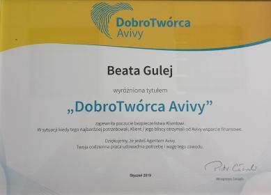 Agent Ubezpieczeniowy Beata Gulej - Ubezpieczenia grupowe Żlinice